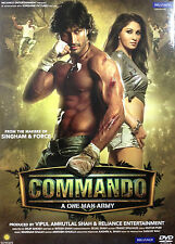 Commando : A One Man Army - Official Bollywood Movie DVD ALL/0 Subtitles