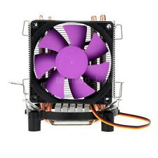 CPU Heat Sink Aluminium Cooling Fan 2 Heat Pipes for Intel LGA 115X AMD AM2 B2L8