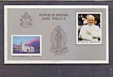 (1987) Sc.1586 /GJ.HB58. Popes. Souvenir sheet. MNH. Excellent condition