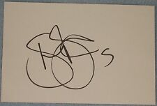 Shaun Barker signed football index card (Derby)