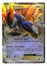 Pokémon Individual Cards EX Cobalion 93/135 with Card Sleeve and Box Case