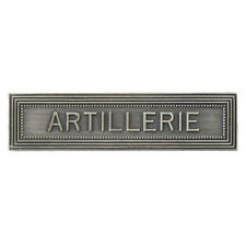 AGRAFE ARTILLERIE NEUVE POUR MEDAILLE ORDONNANCE LS