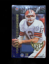 1996 Pro Mags VINNY TESTAVERDE Cleveland Browns Baltimore Raven Magnet Card Rare