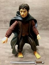 "The Lord of the Rings 6"" Scale FRODO with SWORD ATTACK ACTION FIGURE Loose"