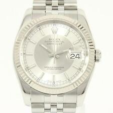 Authentic ROLEX 116234 Datejust SSxWG Automatic  #260-001-610-8387