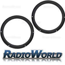 "Skoda Octavia II  2005–2013 8"" MDF Front Speaker Adaptors / Rings / Spacers"