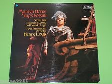 Marilyn Horne# sings Rossini L'Assedio di Corinto - Henry Lewis - Decca UK LP