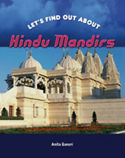 Anita Ganeri Hindu Mandirs (Let's Find Out About) Very Good Book