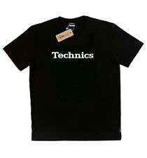Technics T-Shirt BLACK and BLUE  - Turntable audio 1200 1210 ( size L, XL, XXL )