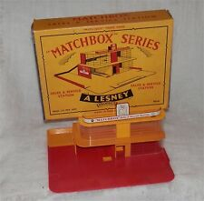1960s Matchbox Lesney MG-1 Sales & Service Station ESSO.MINT IN BOX,Qriginal