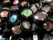 NYX WHOLESALE HOT SINGLES EYE SHADOW LOT OF 100 *ASSORTED COLORS* EXP 03/17 +