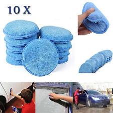 10x Car Waxing Polish Foam Sponge Wax Applicator Cleaning Detailing Pads Sponge