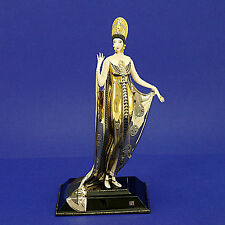 House of ERTE ART DECO 'Isis Porcelana Estatuilla De Edición Limitada No. AA129 - 27c