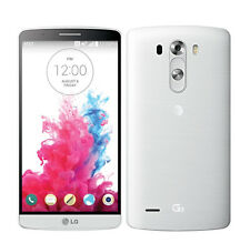 LG G3 D850 32GB 13.0MP 4G LTE Android Quadcore 5.5'' Unlocked Mobile Phone-WHITE