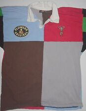XL Mens Canterbury Flowers Original Harlequins Rugby Shirt Made in England