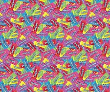 2 yards Laffy Taffy Packed Candy Fabric