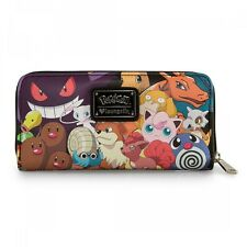Pokemon Characters All Over Print Zip Around Wallet Loungefly LF-PMWA0003