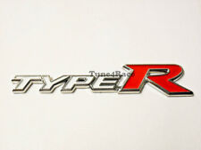 Honda Type R emblem white logo badge sicker CIVIC ACCORD SI JDM Trunk Grille New