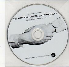 (DD434) The Victorian English Gentlemens Club, Amateur Man - 2006 DJ CD