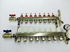 9 port underfloor heating manifold, like uponor