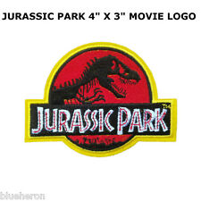 "Jurassic Park Patch Badge 8.6x11.6 cm 3.5""x4.5"""
