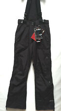 Womens Killtec Level 5 Tech-Line Snowboard Ski Outdoor Black Pants Size 8 NEW