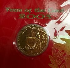 2003 Year of Goat Token coin in UNC/Bu grade!
