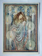 SULAMITH WULFING original art post card print vintage fantasy SM1 Candle light