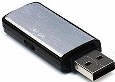 Spy Voice Recorder Dictaphone USB 8GB Flash Thumb Drive for Mac Windows