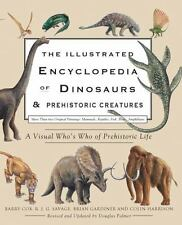The Illustrated Encyclopedia of Dinosaurs & Prehistoric Creatures-ExLibrary
