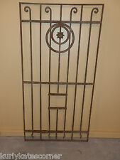ANTIQUE EGYPTIAN  WROUGHT IRON GATE PANEL