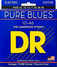 DR  PHR-10  Electric Guitar Strings 10-46 Pure Blues