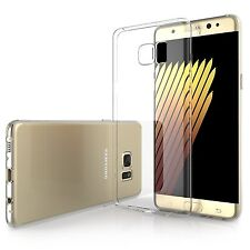 Pour Samsung Galaxy Note 7 Coque Etui Gel Silicone Tpu Lisse Transparent