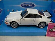 1/24 Welly Porsche 964 Turbo weiß