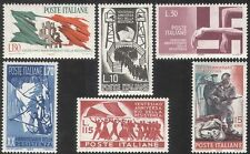 Italy 1965 Military/Soldiers/WWII/Resistance/Memorial/Monument/Flags 6v (n41695)