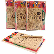 Note Book Worry Doll Notebook With Pencil Worry Doll Mounted Memo Pad
