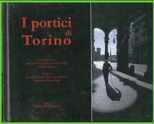 i PORTICI di TORINO cartonato fotografico illustrato piazza ed.libro
