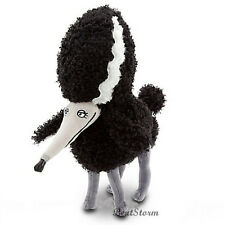 "12"" NEW DISNEY STORE TIM BURTON FRANKENWEENIE PERSEPHONE Poodle Plush Dog animal"