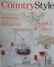 Country Style Magazine December 2005 Perfect Food To Serve With Christmas Drinks