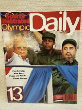 """1996 Sports Illustrated Olympic Daily Program Day 13 """"The Dictator"""" 151143"""