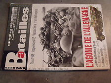 µ? Revue Batailles XX e siecle n°69 Agonie allemagne Liberation Oleron LVF