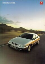 Citroen Xantia 2000-01 UK Market Sales Brochure LX SX Exclusive Activa