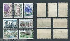 SÉRIE TOURISTIQUE - 1960 YT 1235 à 1241 - TIMBRES NEUFS** LUXE