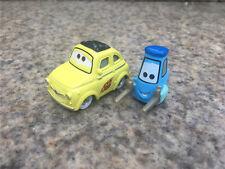 Mattel Disney Pixar Cars Race Team Luigo & Guido 2pcs Spielzeugauto Neu Loose