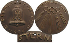 Participation medal Olympic Games Berlin 1936. Cycling Tour to the Games