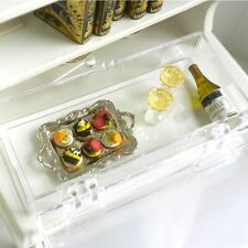 New Year's Eve Canapés & Champagne for 2 by IGMA Ann Caesar Dollhouse Miniature