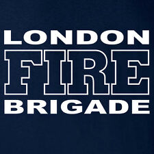 London Fire Brigade United Kingdom T-shirt  Size Large