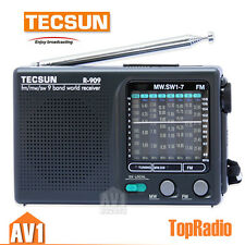 Tecsun R909 World Radio. portable size. simple to control. Economic and reliable