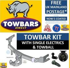 Towbar for Vauxhall Combo Van MK1 1993 to 2001 Flange with Towball & Electrics