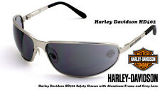 Harley Davidson Softail Silver Metal Dark Sunglasses HD502